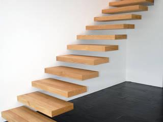 Realizzazioni Losa Falegnameria sagl Ingresso, Corridoio & Scale in stile moderno