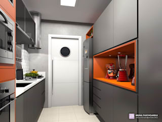 Modern kitchen by bruna.paschoarelli Modern