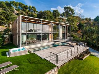 Maison D Maisons modernes par didier becchetti architectes Moderne
