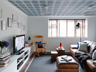 Virginia Water Apartment - Surrey Salas modernas de Bhavin Taylor Design Moderno