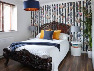 Projekty,  Sypialnia zaprojektowane przez Bhavin Taylor Design