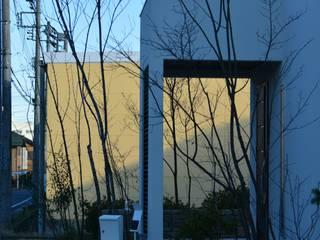 白の庭: シツラエが手掛けた庭です。,