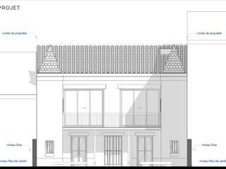 Maison Laborde:  de style  par Archi XXC & ABEO