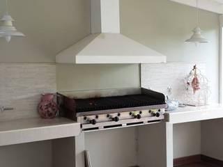 Remodelación Quincho y hall de entrada de Arquitecta y decoradora Sabina Casado