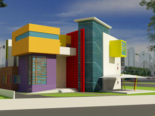 Forthcoming kindergarten school eSpaces Architects Modern schools