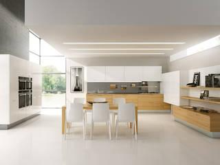 Modello Asia Cucina moderna di DIEMME CUCINE S.r.l. Moderno