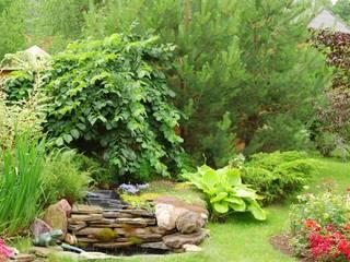 Modern Garden by ARTEMISIA ESPACE VERT, ESPACE DECORATION Modern