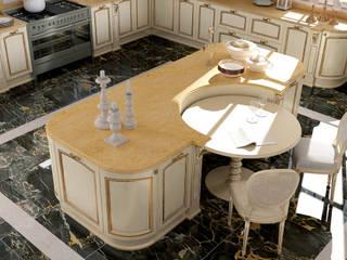 Modello Preziosa Cucina moderna di DIEMME CUCINE S.r.l. Moderno