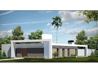 VIVIENDA HEREDIA-CHÁVEZ: Casas de estilo  por Arquitecto Juan Nicolás Bobba