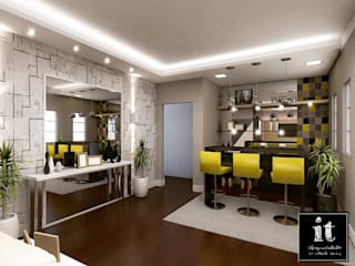 Projeto Modern kitchen by IT AQUITETURA E INTERIORES Modern