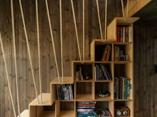 Koridor & Tangga Gaya Rustic Oleh Ace Disegno Rustic