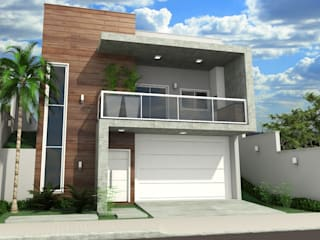 Projeto Modern houses by IT AQUITETURA E INTERIORES Modern