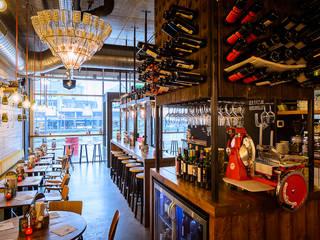 Firma Pickles | Burgers & Wines – Markthal Rotterdam:  Gastronomie door Tubbs design