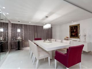 Modern dining room by MJ Projetos e Consultoria Ltda Modern