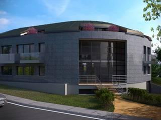 Defne Anter Mimarlik – Doğa Limited Ofis Binası:  tarz Ofis Alanları