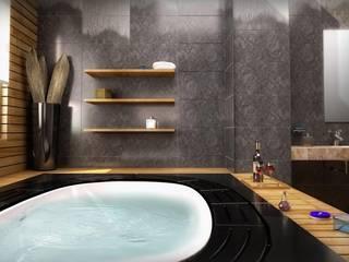 GOLD YAPI DEKORASYON - İÇ MİMARLIK TASARIM VE PROJE – Gold Yapi Banyo: modern tarz Banyo