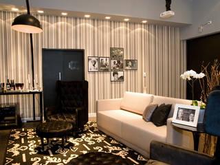 Salas de estilo moderno de Meire Lemes Designer de Interiores Moderno
