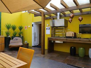 Casa Cor 2013: Terraços  por Meire Lemes Designer de Interiores,Moderno