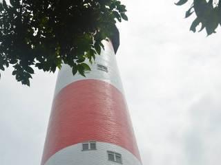 Faro naval en Isla Palma: Museos de estilo  por Constructora Acuario Ltda.