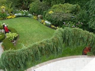 Jardin anglais Jardin rustique par COUP DE POUSSE SUR GARONNE Rustique