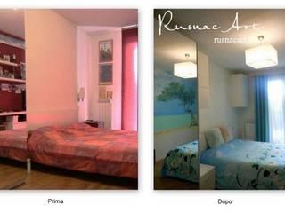 Camera da letto:  in stile  di RusnacArt