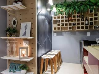 Cave à vin moderne par Caio Prates Arquitetura e Design Moderne MDF