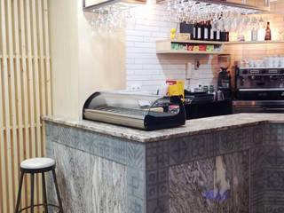 Bar Comercio Bares y clubs de estilo industrial de La Proyectual Industrial