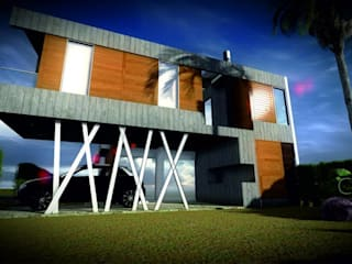 REMODELAC + AMPLIACION LOFT 105 m2:  de estilo  por CSS Arquitectura