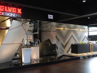 Modern study/office by Germán Velasco Arquitectos Modern