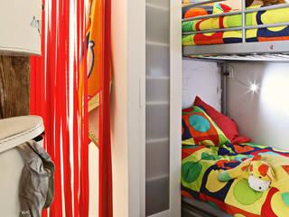 Dormitorios infantiles de estilo  por Sucursal urbana universo Sostenible