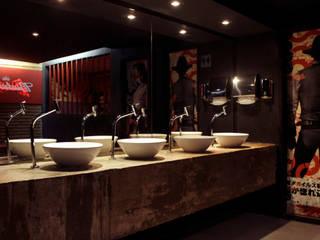 Velvet Club Bares e clubes modernos por Caio Prates Arquitetura e Design Moderno