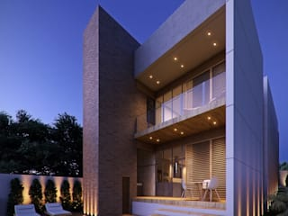 Casa ER Casas modernas por Caio Prates Arquitetura e Design Moderno