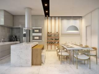Casa ER Cozinhas minimalistas por Caio Prates Arquitetura e Design Minimalista