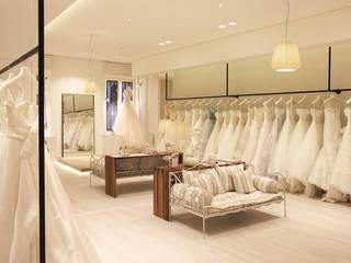 White Le Spose: Negozi & Locali commerciali in stile  di Onice