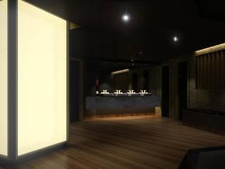 Royalty Club Bares e clubes modernos por Caio Prates Arquitetura e Design Moderno
