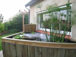 KAEL Createur de jardins Jardines de estilo moderno