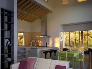 Casa en el Bosque de BAA Estudio de Arquitectura