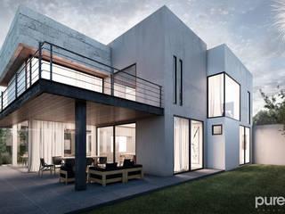 Casas modernas de Pure Design Moderno