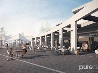 Plaza pesquería: Casas de estilo  por Pure Design