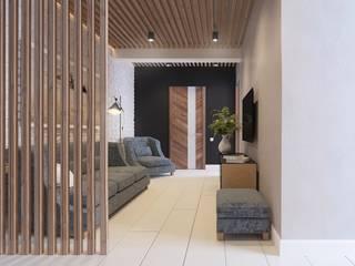 A R C H I T I Z M Livings de estilo minimalista Derivados de madera Acabado en madera