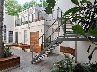 Jadín de Matealbino arquitectura