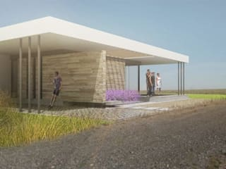 Moderne Häuser von metrocubico . taller de arquitectura Modern