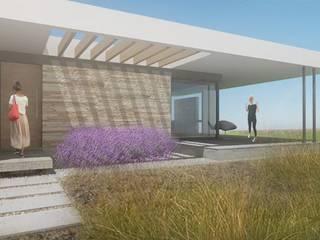 CASA LL: Casas de estilo  por metrocubico . taller de arquitectura