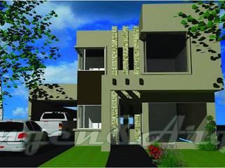 Casa Flia. Doña - Moreno:  de estilo  por Ingeniarq