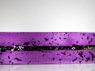 Ana Maria Nava Glass ArtworkSculptures Glass Purple/Violet