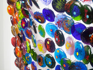 de estilo  por Ana Maria Nava Glass, Minimalista Vidrio