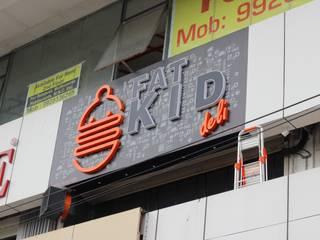 Fat Kid deli Industrial style hotels by Studio Node Industrial