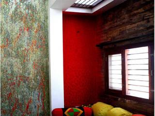 Lego House BETWEENLINES Modern living room