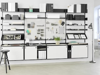 Elfa Deutschland GmbH Study/officeStorage Metal White