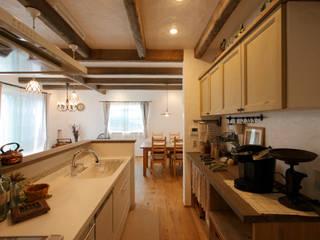 アンティークな新築住宅 ラフェルム의  주방